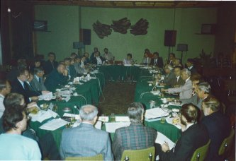 Meeting in Pamporovo, 1990